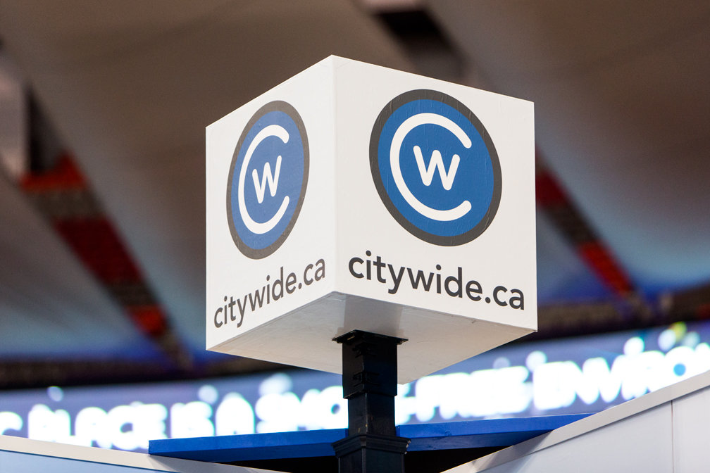 Citywide Sundecks homeshow booth sign