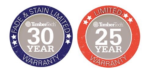TimberTech warranty emblem for Citywide Sundecks