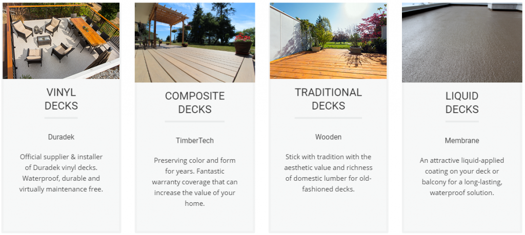 Citywide sundecks installs all decking types