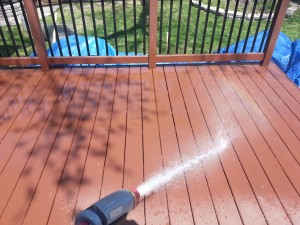 wet deck down